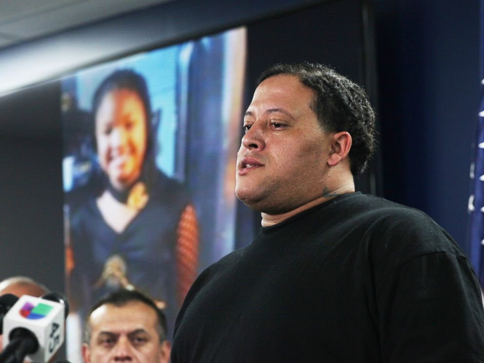 Christopher Cevilla, father of 7-year-old Jazmine Barnes, speaks during a news conference, Monday, Dec. 31, 2018, in Houston.