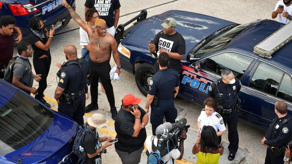 Atlanta police chief walks tightrope as she handles protests