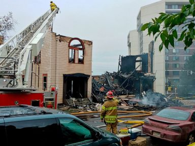 Blaze destroys synagogue in Minnesota city; cause unknown