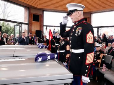 Unclaimed veterans buried with dignity thanks to strangers