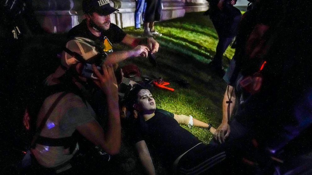 Lawsuit over Kenosha shootings: Police enabled armed militia