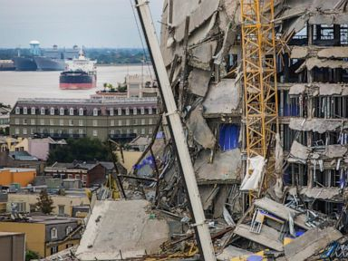 Many await orders to get out of city ahead of Hard Rock Hotel blast after collapse