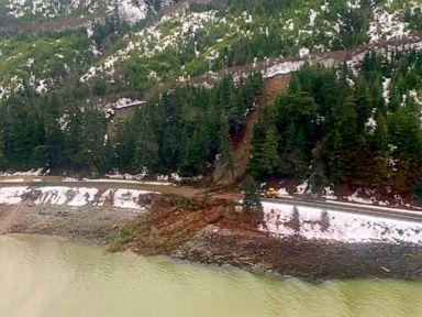 Search continues for 2 missing after Alaska landslide
