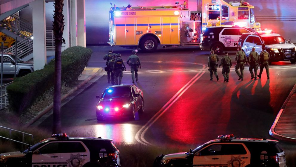 Vegas police arrest 18-year-old in mall shooting that hurt 3 thumbnail