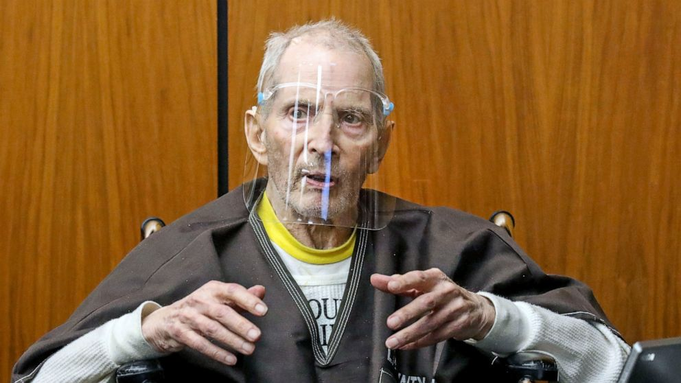 Robert Durst sentenced to life in best friend's murder