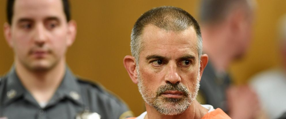 Fotis Dulos is arraigned on charges of tampering with or fabricating physical evidence and first-degree hindering prosecution at Norwalk Superior Court in Norwalk, Conn. Monday, June 3, 2019. Fotis Dulos, and his girlfriend, Michelle C. Troconis, wer