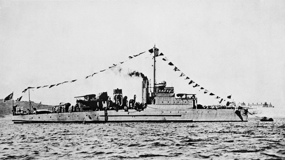 Navy warship sunk by German sub in WWII finally located