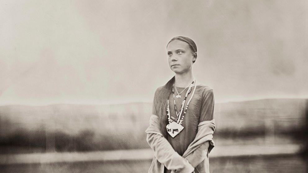 Greta Thunberg Stäbchen