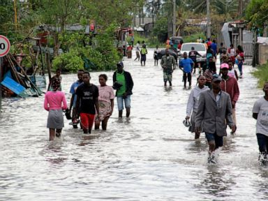 UN: 250,000 people affected by Cyclone Eloise in Mozambique