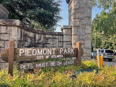 Woman fatally stabbed while walking dog in Atlanta park
