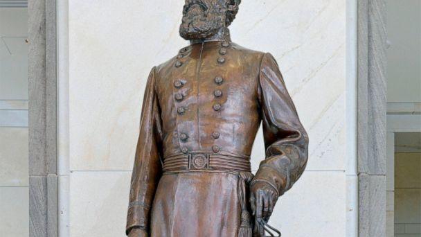 Critics protest move of Confederate statue to Florida county