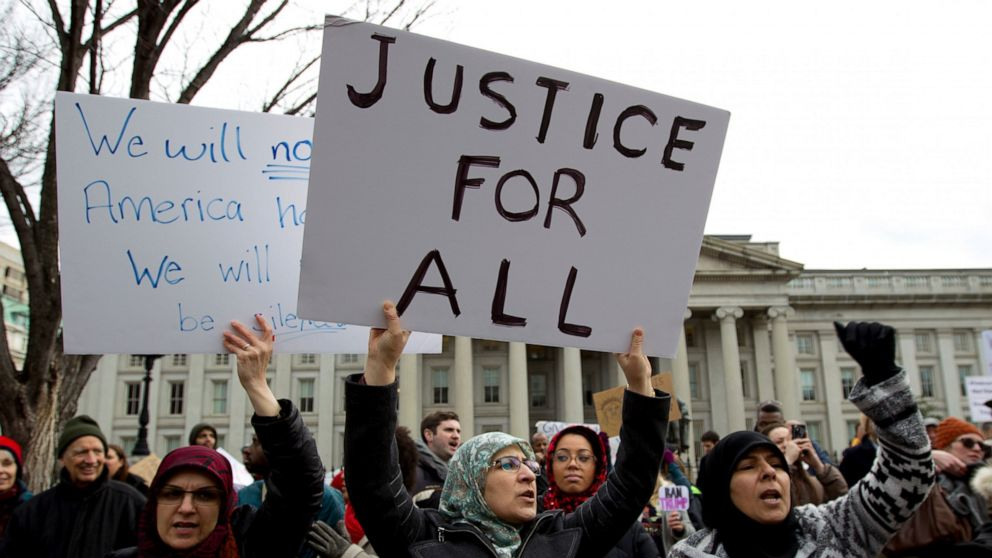 Drei Jahre später, Trump travel ban Köpfe wieder vor Gericht