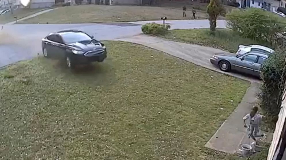 The parents of a 9-year-old girl who was seriously injured when a car careened across her front yard, hit her and then hit the house, hope the public can help identify the driver