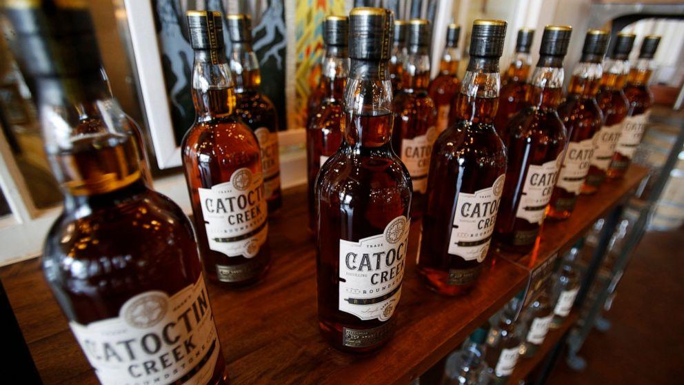 米国ウイスキーの輸出の減少としての貿易紛争が続く