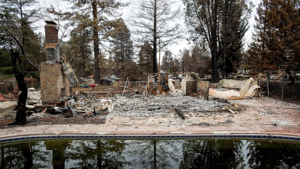 Officials say the drinking water in Paradise, California, is contaminated with the cancer-causing chemical benzene after a deadly wildfire last year thumbnail