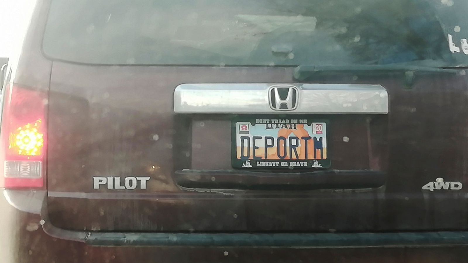 Utah Eyes Personalized License Plates After Deport Uproar Abc News Images, Photos, Reviews