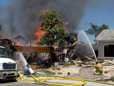 1 dead, 15 hurt in California home gas explosion