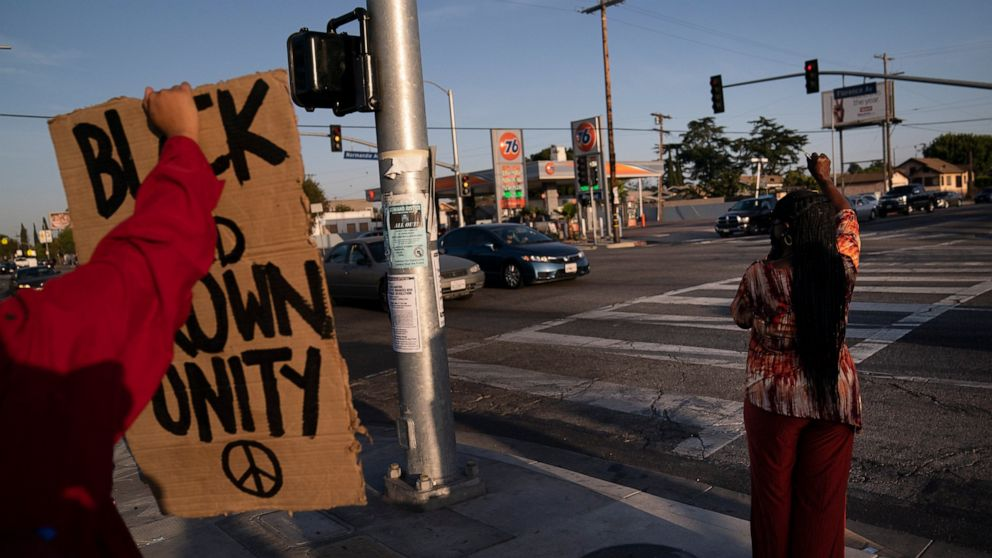 Flashpoint of 1992 LA riots becomes a place of celebration