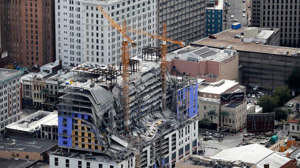 Bleibt ausgesetzt Monate nach Hard Rock hotel Zusammenbruch