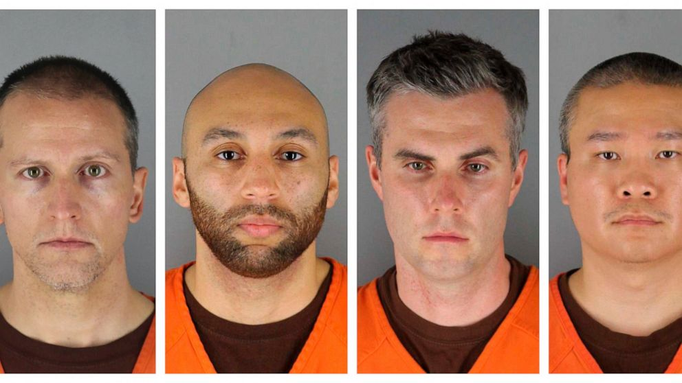 Judge postpones trial for 3 ex-cops charged in Floyd's death