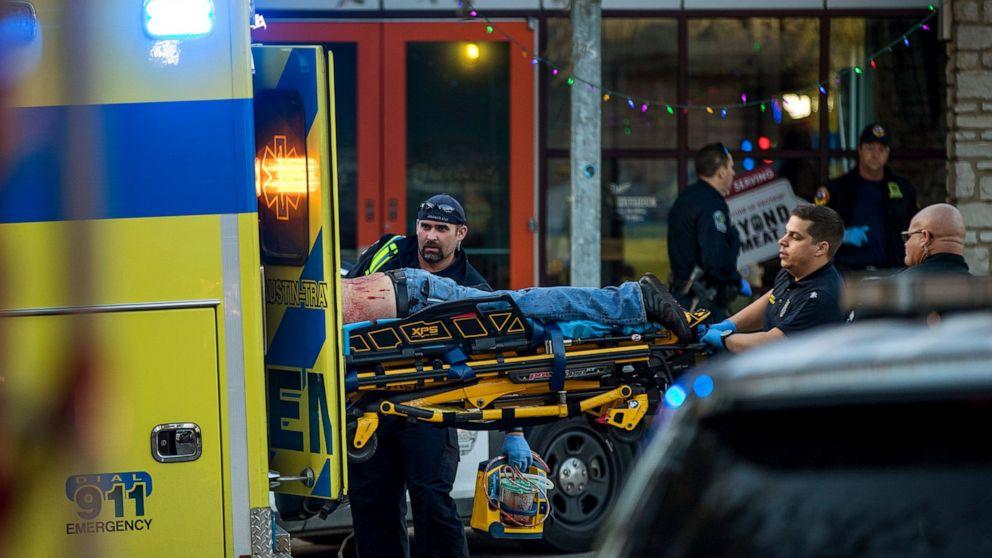1、3痛に刺し事故'の繁華街にオースティン