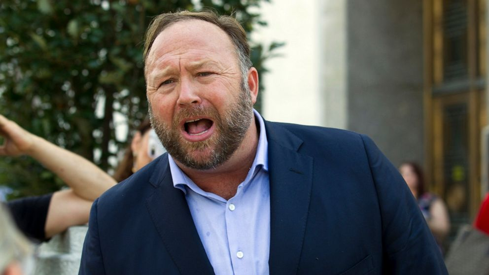 Alex Jones blames conspiracy claims on 'psychosis'