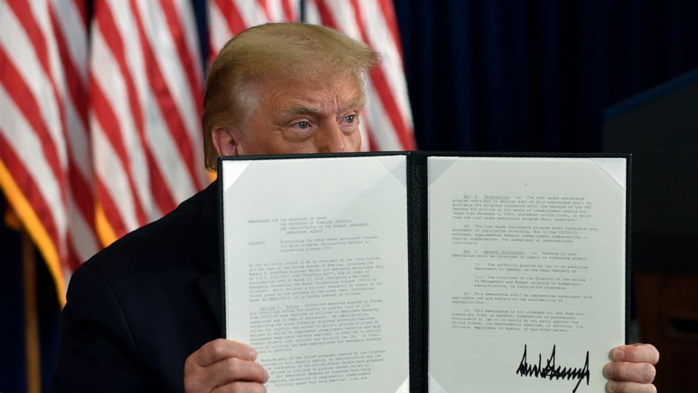Trump's pandemic relief orders are limited in scope - ABC NewsTrump Executive Order Tonight