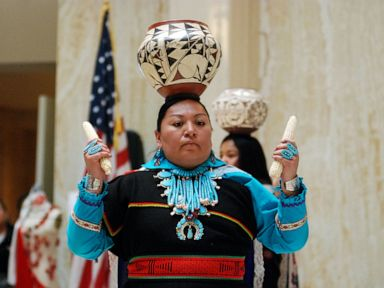Some US states marking their first Indigenous Peoples' Day