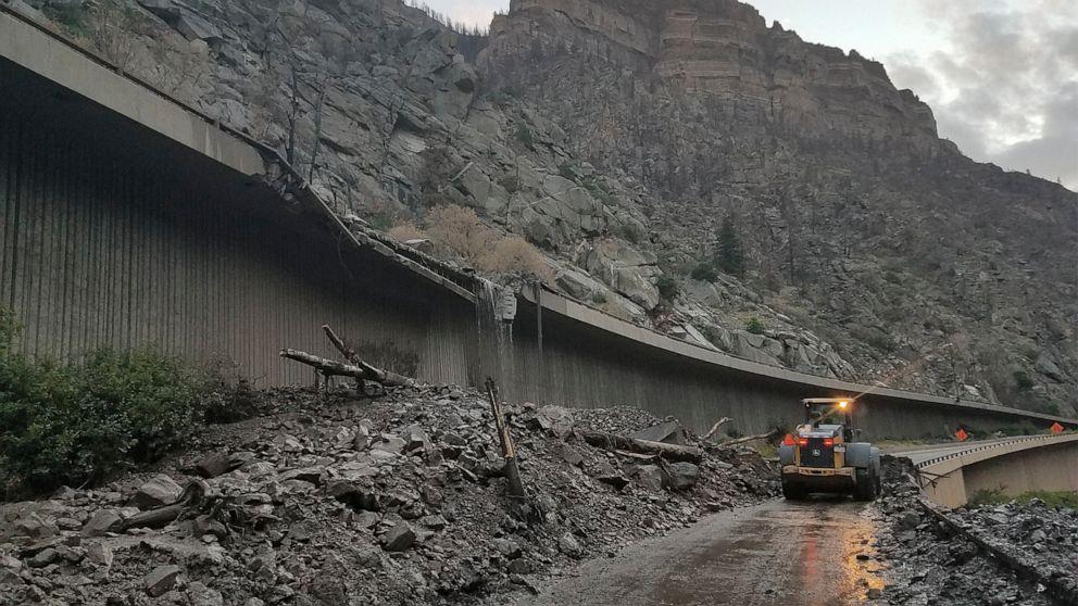 Hundreds of Motorists Trapped Overnight on Colorado Highway After Massive Mudslides
