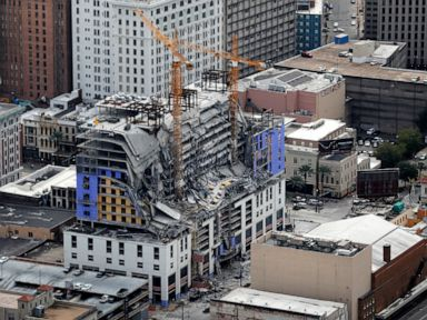 City, developer clash over demolition of collapsed hotel