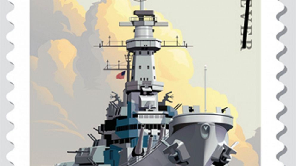 Stamp to honor WWII battleship where Japan surrendered
