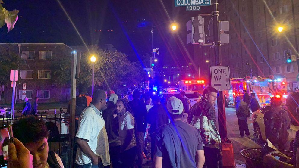 2 penembakan di DC membunuh setidaknya 1, luka lain 8