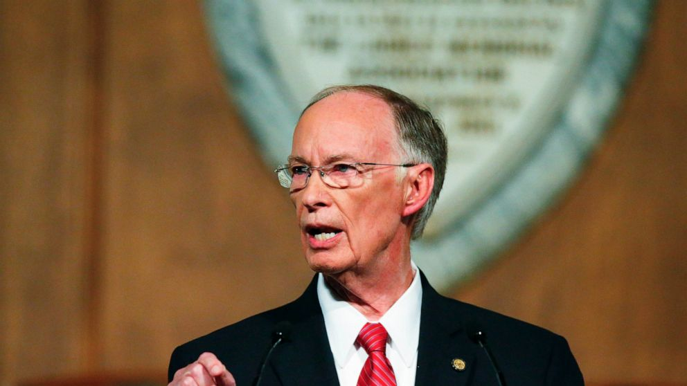 Ex-Alabama Gov. Bentley settles fired official's lawsuit