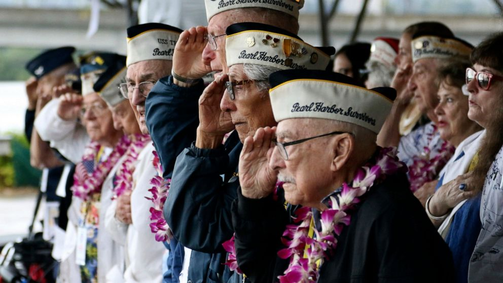Ceremony to remember those killed in Pearl Harbor attack thumbnail