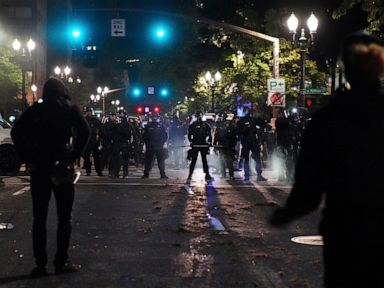 Governor seeks review of police protest response in Oregon