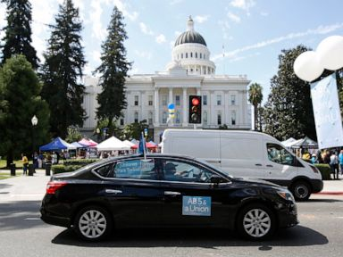 California Senate approves bill regulating gig economy