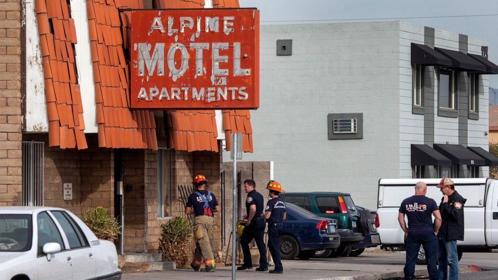 911 Aufrufe zeigen den horror, das chaos von Las Vegas Feuer, tötete 6