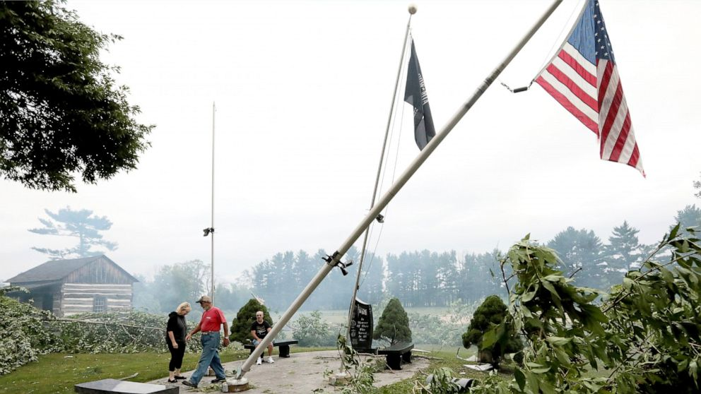 Severe weather in Wisconsin causes widespread damage