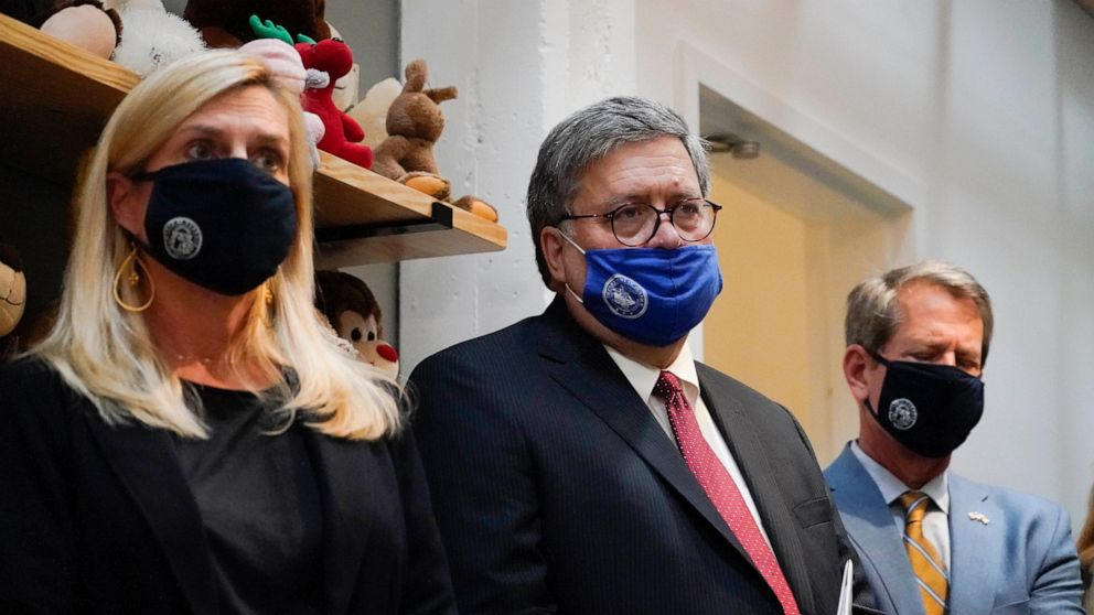 Barr announces $100M more to combat human trafficking