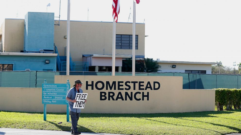 HHS Florida Migrant Child Detention Camp Emptying Out