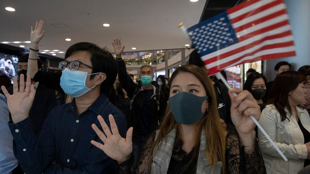 China demands Trump veto bills on Hong Kong