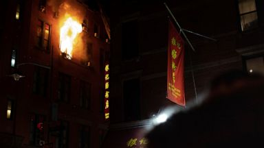 85 000 Museum Artifacts Feared Lost In Nyc Chinatown Fire Abc News