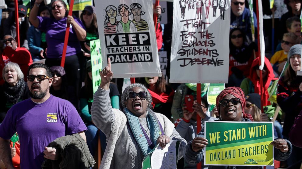 Image result for oakland teachers