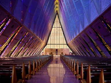 Landmark Air Force chapel suffering from leaks corrosion