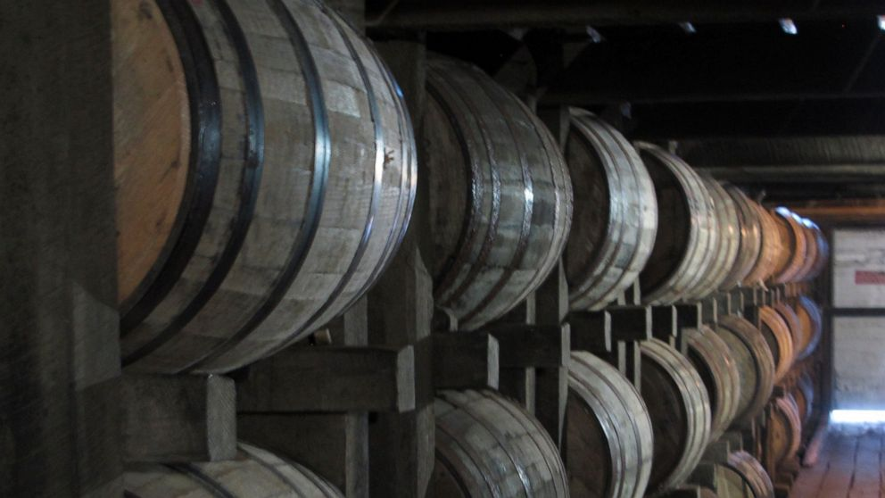 Behind production of a top-selling bourbon, push to go green