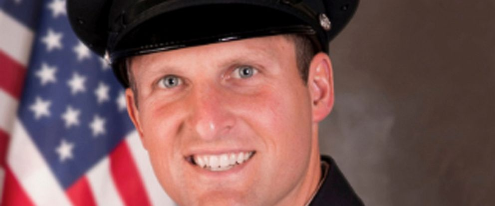 This undated photo provided by the Appleton, Wis., Police Department shows Appleton firefighter Mitch Lundgaard. Lundgaard was killed in a shooting at a Wisconsin bus station while responding to an emergency call Wednesday, May 15, 2019. A call to as