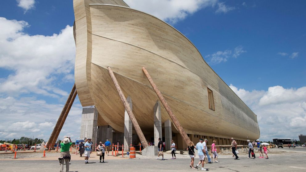 Lawsuit: Flood damage at Noah's Ark attraction in Kentucky