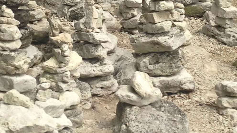 Works of art or monuments to ego? Rock-stacking stirs debate