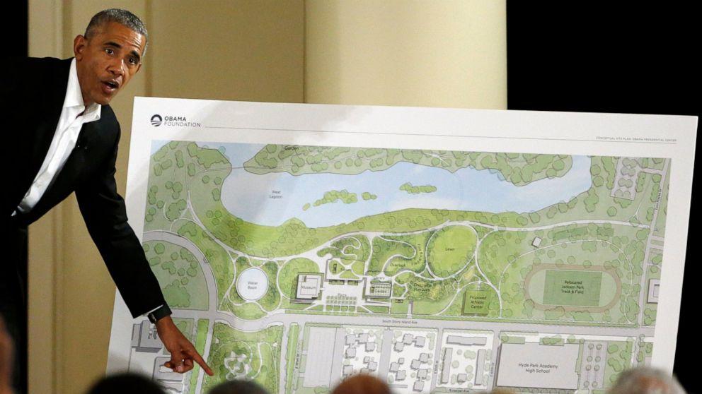 US judge: Construction on Obama center should proceed
