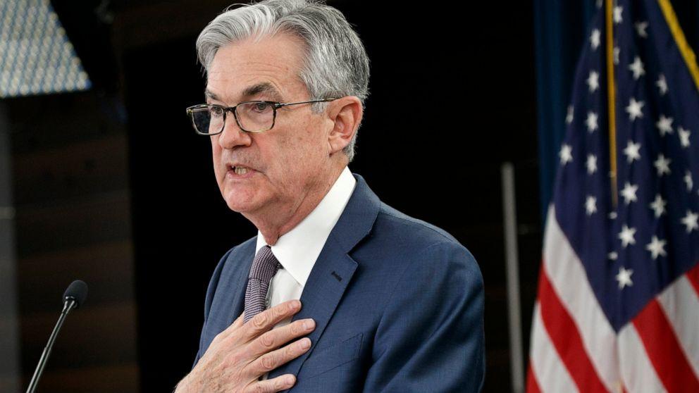Πρόεδρος της Fed Powell λέει θα παρέχει σχεδόν απεριόριστο δανεισμό
